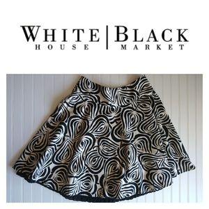 WHBM Skirt with petticoat lining